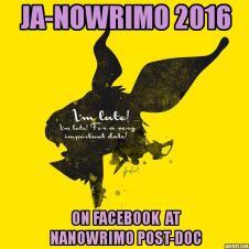 JaNoWriMo