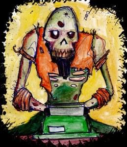 writing-zombie