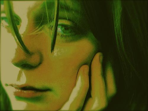 1 sad girl